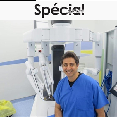 Interview with Dr. Labib Riachi in Spécial Magazine About Robotic Surgery