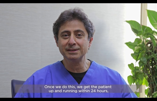 Robotic Surgery Testimonial with Dr. Labib Riachi